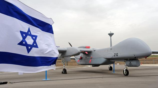 Syria downs Israeli drone in Golan Heights