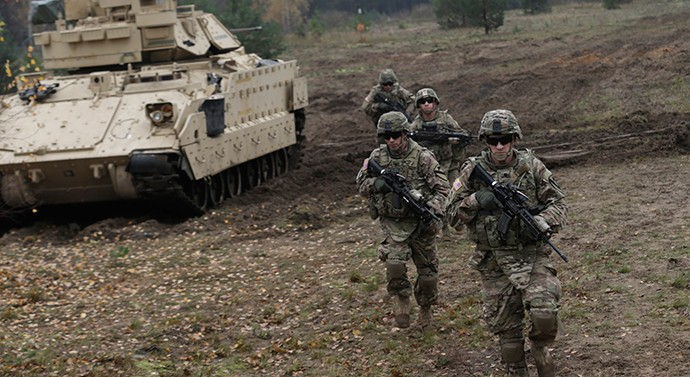 """""""The troops will go back, the equipment will stay behind"""" – US armored vehicles sent to Poland and Baltic States"""
