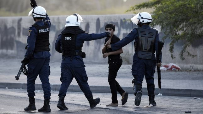 Bahraini security forces clash with top cleric's supporters
