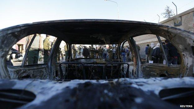Car bomb blast at Yemen police academy kills at least 30