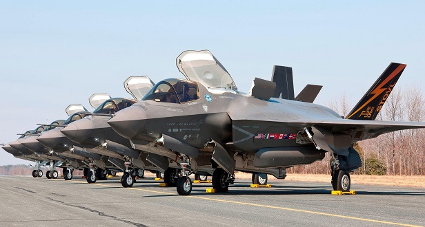 Lockheed Martin receives $18M for F-35 support for Australia, UK, Canada