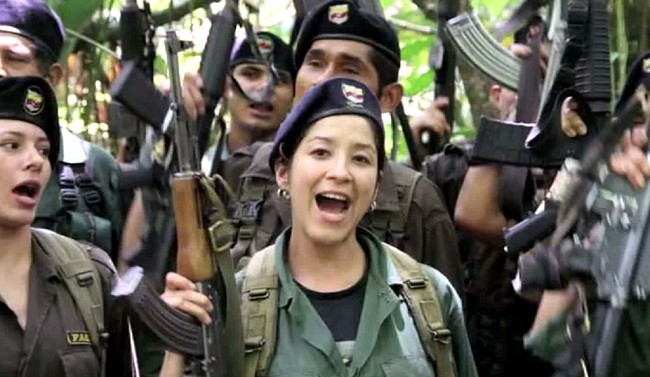 FARC rebel group kills eight Colombian soldiers