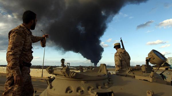 Militants in Libya killed 17 soldiers, one civilian