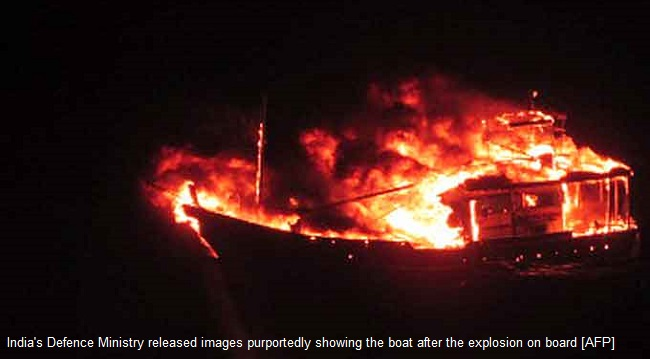 Indians fire shell at Pak fishing boat, later claimed it blew up itself