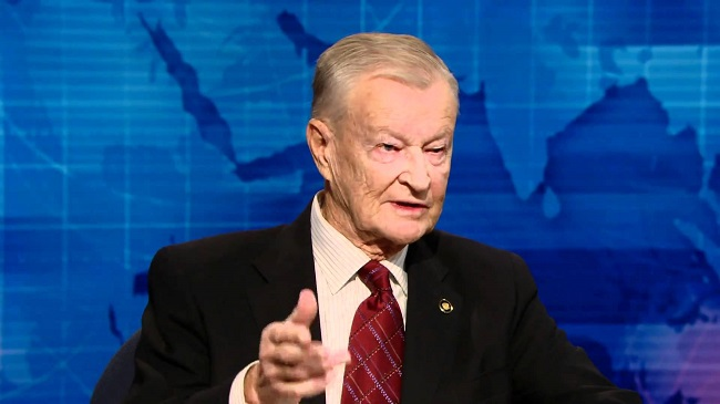 US foreign policy expert Brzezinski says Russian president playing with fire in Europe