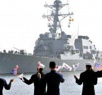 US-South Korea begin 3-day joint naval drill