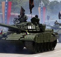 Venezuela conducts massive military drills