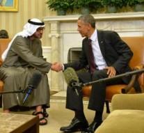 Obama meets UAE Crown Prince to discuss Yemen Crisis, Iran deal
