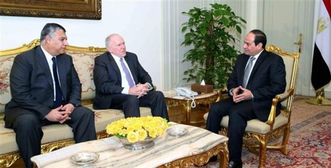 Egypt's President Sisi meets CIA director John Brennan