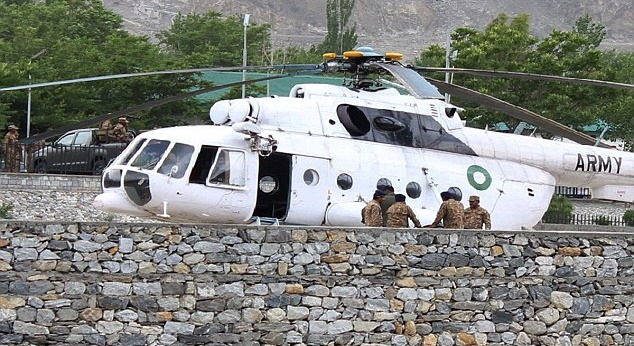 Foreign diplomats killed as Pakistan helicopter crash-lands in Gilgit
