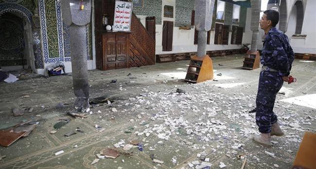 Bomb blast during Eid prayers kill at least 25 in Yemen