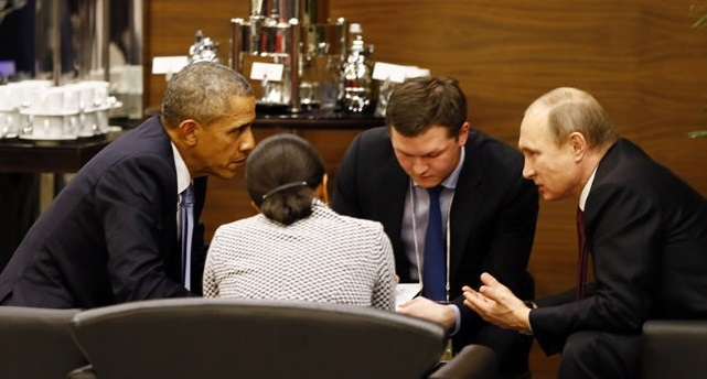 Obama, Putin agree need for UN-negotiated Syria talks on G-20 summit sidelines
