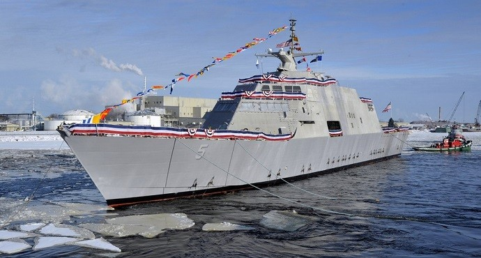 US Navy's newest ship breaks down, towed to Virginia base