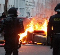 69 German police officers injured in clash with protesters