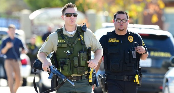 At least 14 dead in California shooting; 2 suspects killed