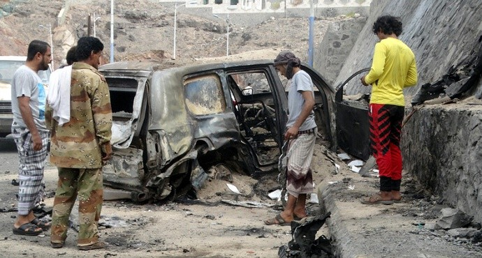 ISIS claims killing of Yemen governor and 6 others