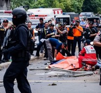 Explosions and gunfire rock Indonesia's capital