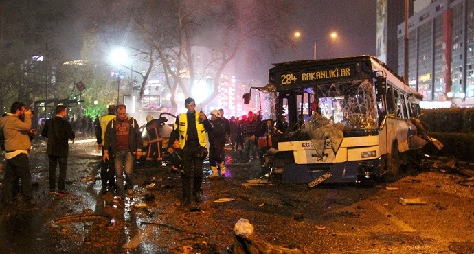 Turkey explosion: More than 34 killed, 125 wounded in Ankara