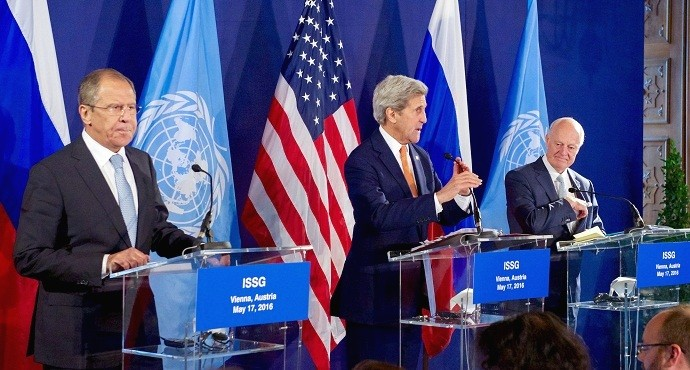 World leaders fail to agree on date for Syria peace talks as Aleppo burns