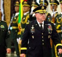US Army chief visits China amid THAAD missile and South China Sea tensions