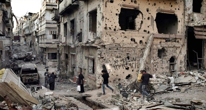 Death and destruction looms over Syria as ceasefire breaks down