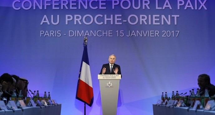 70 nations gather in Paris to discuss two-state solution to Israel-Palestinian conflict