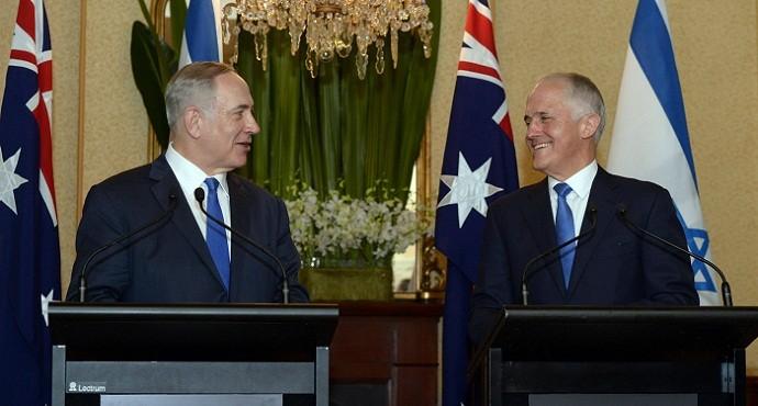 Israel and Australia seek closer ties during Netanyahu's historic visit