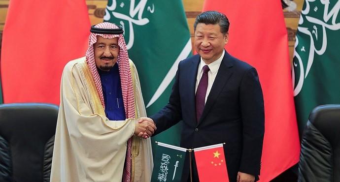 China and Saudi Arabia sign deals worth $65 billion