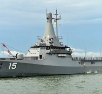 Singapore Navy launches fourth Littoral Mission Vessel
