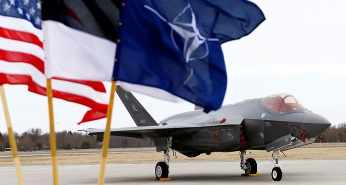 US F-35 stealth fighters land in Estonia for NATO drills