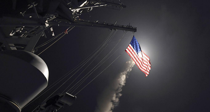 U.S. launches missile strike on Syria after gas attack