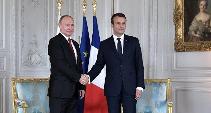 Macron and Putin discuss differences and common ground