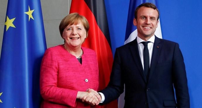 Macron and Merkel vow to strengthen European Union