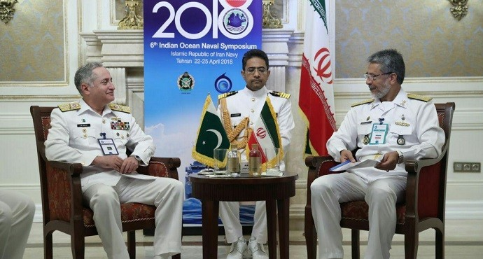 Pakistan and Iran navy chiefs agree to enhance defense cooperation