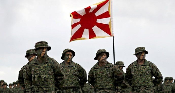 Japan revives first marines since WWII to strengthen defenses