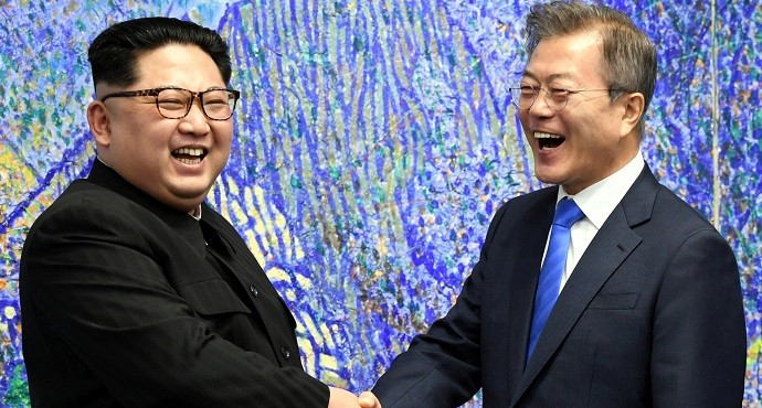 North Korea and South Korea agree end to war and 'complete denuclearization'