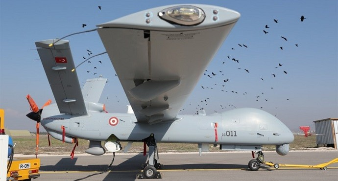 Turkish Armed Force receives first ANKA-S system with satellite control capability