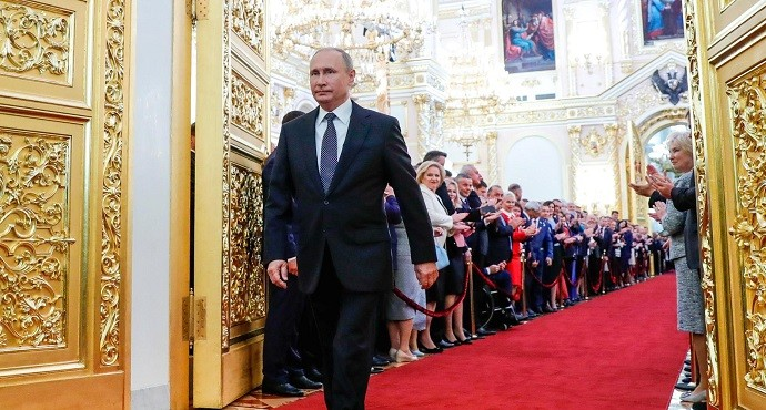 Putin begins historic fourth term as Russian leader