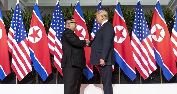 Trump, Kim sign historic pledge towards peace and denuclearization