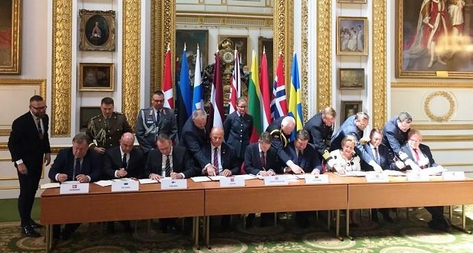 Nine EU states establish joint European military intervention force