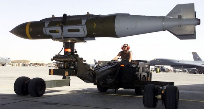 NATO receives delivery of U.S.-made precision-guided munitions