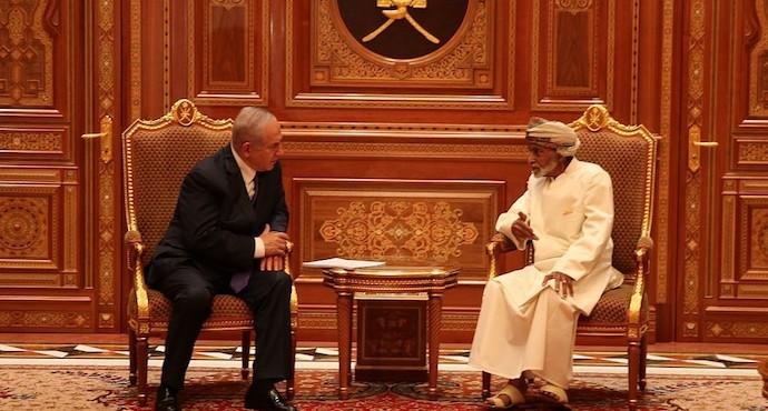 Netanyahu makes rare visit to Oman, which has no diplomatic ties with Israel