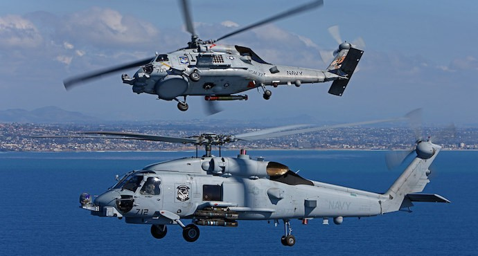 India signs $905 million deal with Sikorsky for 24 MH-60R helicopters