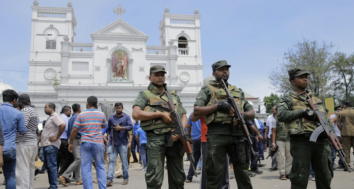 Deadly explosions kill at least 290 in Sri Lanka on Easter Sunday