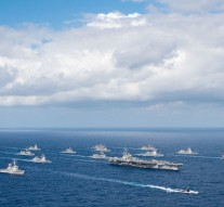 US, Japan, South Korea, Australia hold first joint naval drills
