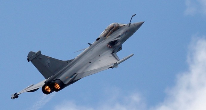 India receives first five Dassault Rafale fighter jets from France