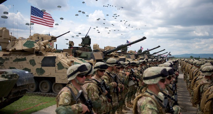U.S. military announces largest deployment to Europe for 2020 exercises