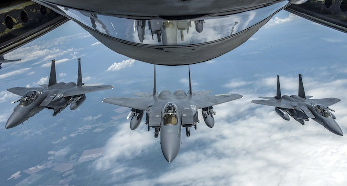 US approves $4.5 billion upgrade of Japan F-15s
