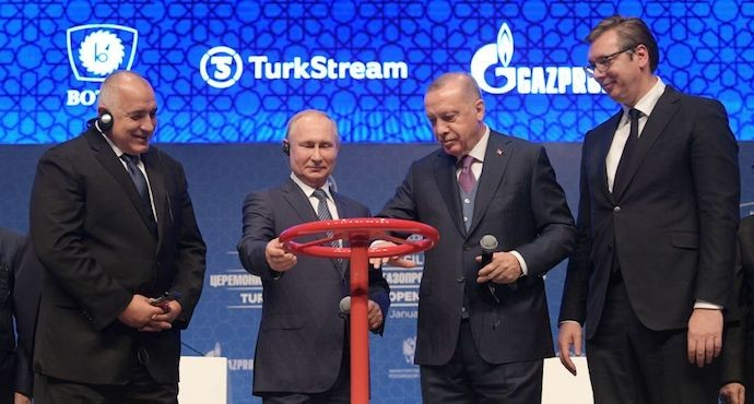 Russia, Turkey launch TurkStream pipeline