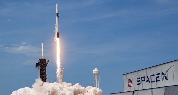 SpaceX begins historic human flight with NASA astronauts launch